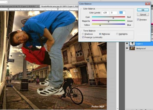 Tutorial Photoshop – Manusia Raksasa | photoshop tutorial