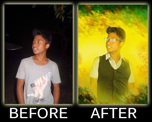 Langkah Mudah Mengolah Gambar Jelek | photoshop tutorial, cara ...